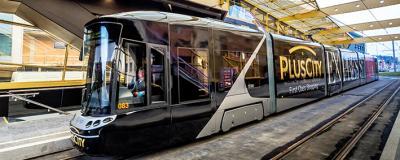 Straßenbahn zur PlusCity