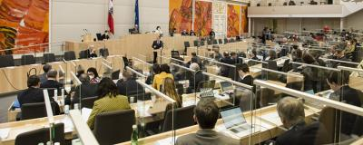 Sitzung des Nationalrats in der Hofburg