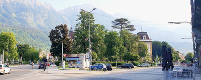 Ing.-Etzel-Park im Innsbrucker Stadtteil Saggen