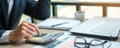 Taschenrechner und Buchhaltung