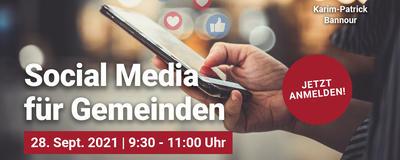 Social Media Webinar mit Karim-Patrick Bannour