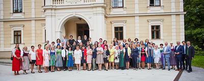 Bürgermeisterinnentreffen im August 2021 in St. Anton an der Jeßnitz.