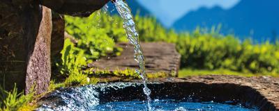 Der Wasserverbrauch wird auch in Österreich zunehmend Thema
