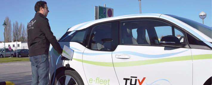 Fuhrpark-Management mit Elektoautos