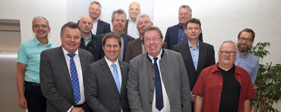 Die Teilnehmer des Projektauftakts