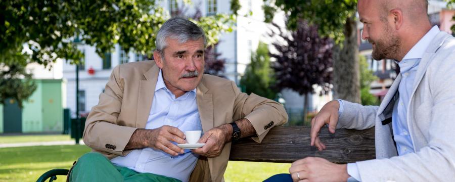 Alois Steinbichler und Michael Zimper