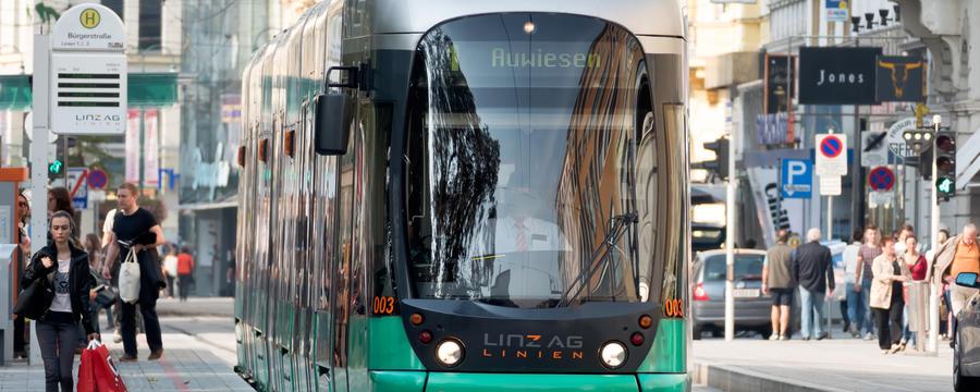 Straßenbahn in Linz