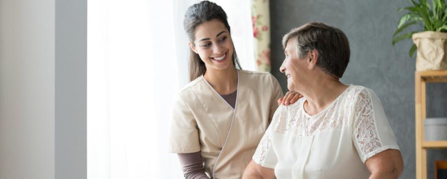 Pflegeberufe - Krankenpflegerin