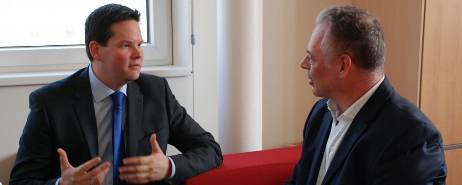 Lukas Mandl und Hans Braun