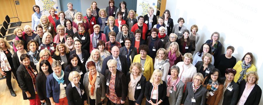 Bürgermeisterinnen aus Bayern und Österreich