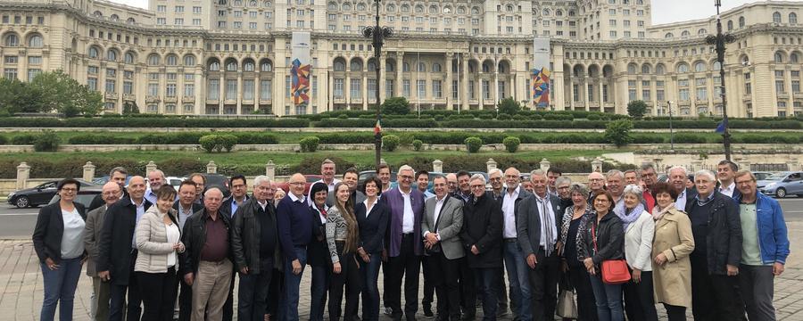 Gemeindebunddelegation in Bukarest