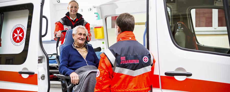 Krankentransport der Johanniter