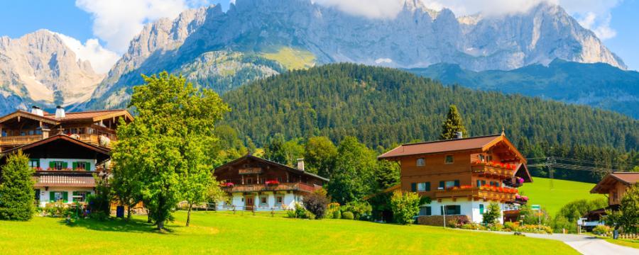Dorf in Tirol