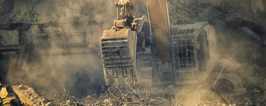 Haus wird abgerissen