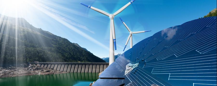erneuerbare Energieformen