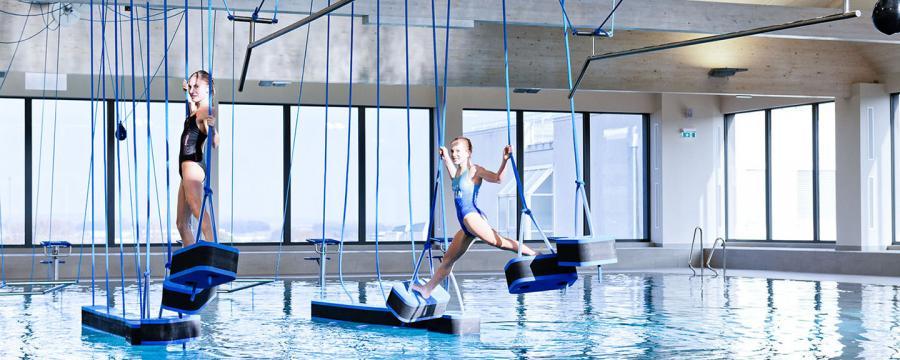 Aquacross-Anlage im Regionalbad Gänserndorf