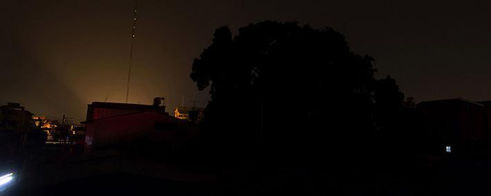 Blackout in Venezuela