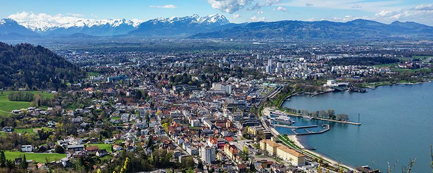Blick auf Bregenz