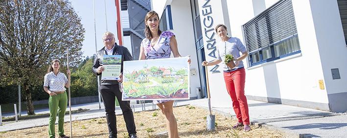 """""""Natur in der Gemeinde"""" zu Besuch in Obertrum."""