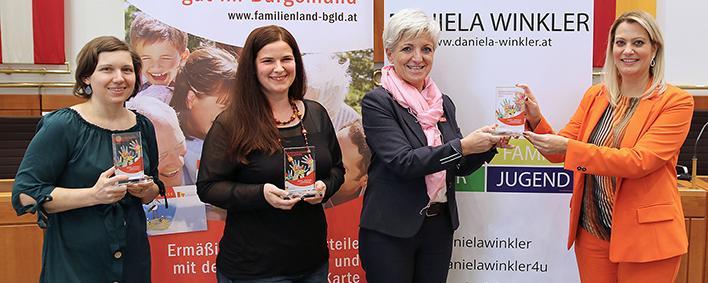 die Preisträgerinnen des burgenländischen Familienpreises