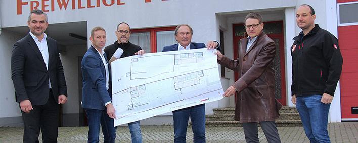 Musterbeispiel Feuerwehrhaus Zurndorf