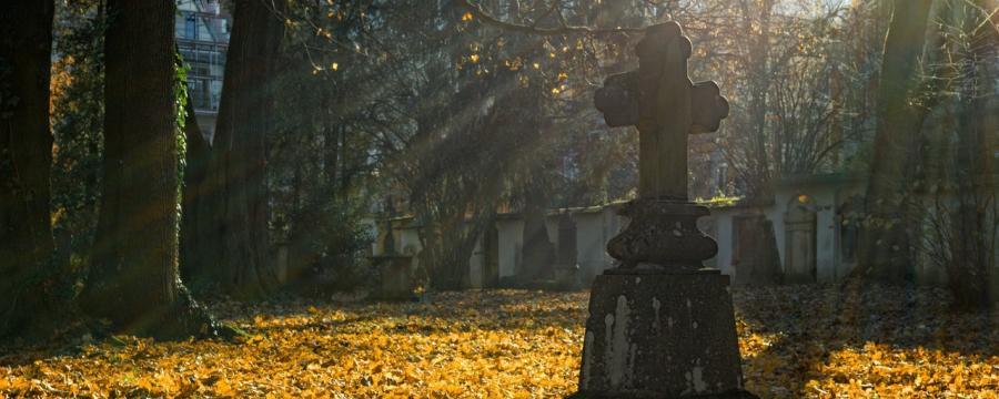 Ein schöner Friedhof in Ihrer Gemeinde