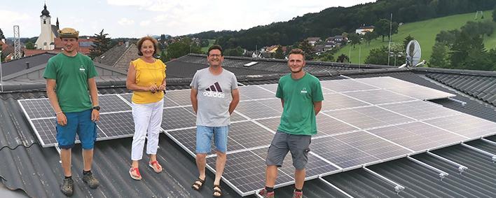 Photovoltaikanlage in Neuhofen