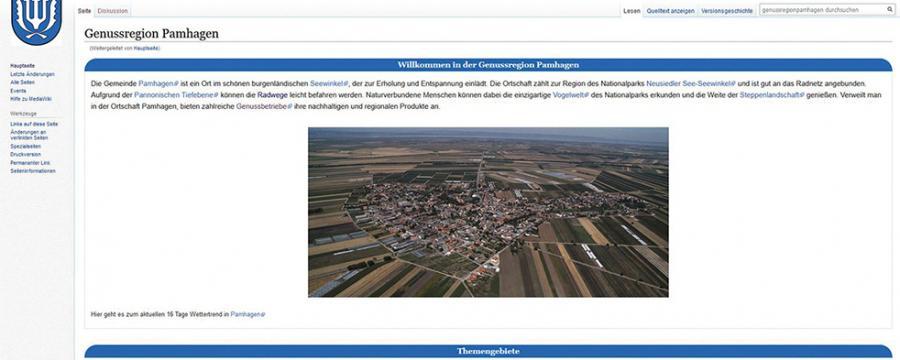 Wikiprojekt Startseite