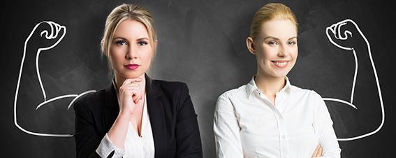 starke Geschäftsfrauen