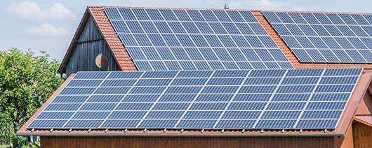 Photovoltaik auf Dächern
