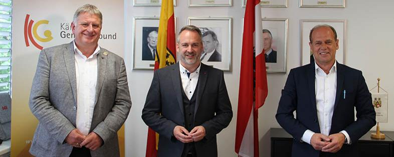 Max Linder (FPÖ), Günther Vallant (SPÖ) und Christian Poglitsch (VP)