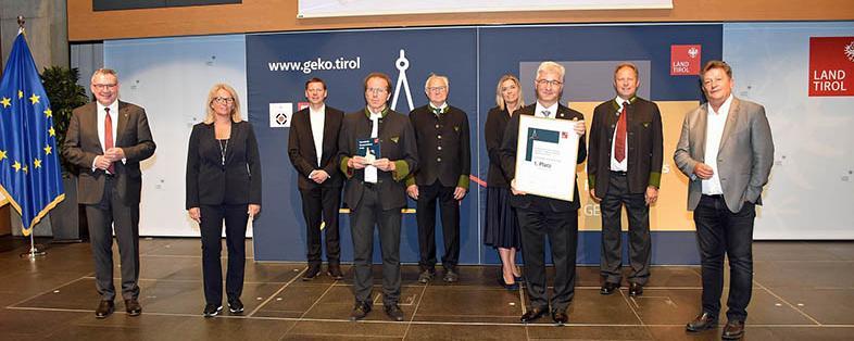 GEKO-Verleihung