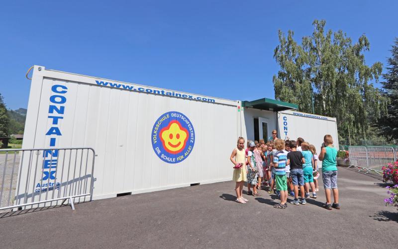 Containerschule in Deutschfeistritz