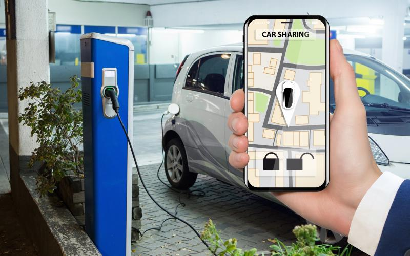 E-Carsharing auf dem Smartphone