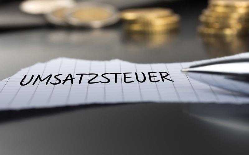 Symbolbild Umsatzsteuer