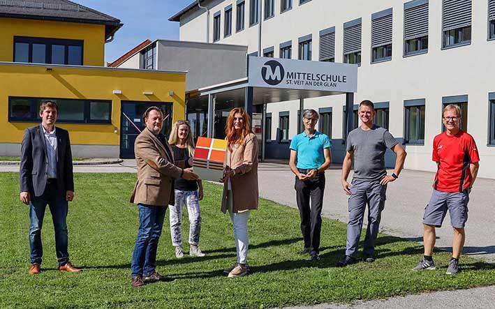 Schulgemeindeverband St. Veit/Glan forciert den Ausbau erneuerbarer Energieerzeugung