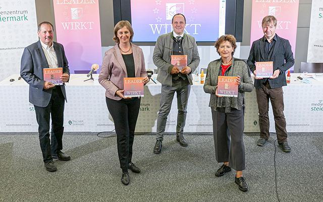 Die 15 steirischen LEADER Regionen präsentieren ihre Bilanz