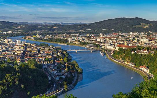 Blick auf Linz