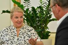 Gesundheitsministerin Beate Hartinger-Klein