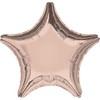 Воздушный шар Шар 19'' (48см)  звезда металлик  см   rose gold