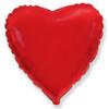 Воздушный шар 32''(81см) шар   сердце красный