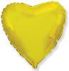 Воздушный шар 18''(45см) шар   сердце золото