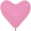 Воздушный шар 14''(36см) Сердце   Розовый  пастель