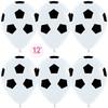 Воздушный шар 14''(36см) Шар   Футбольный мяч Белый  пастель