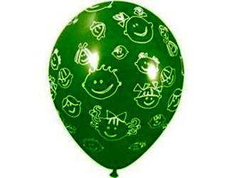 12''(30см) пастель  детские улыбки