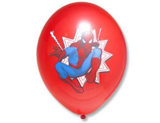 Шар 14'' (36см)  с рисунком  marvel челов паук