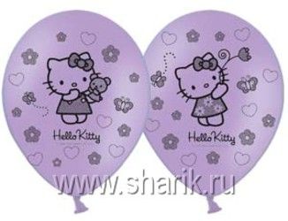 14''(36см) пастель  hello kitty