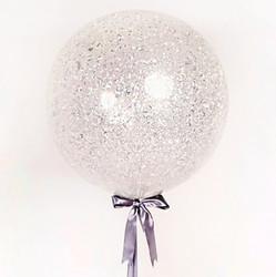 Шар 36'' (91см)  кристалл  конфетти