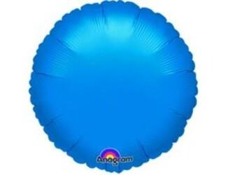 18''(45см) б рис круг  металлик blue