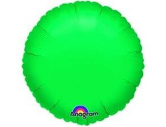 Шар 18'' (45см)  круг металлик green